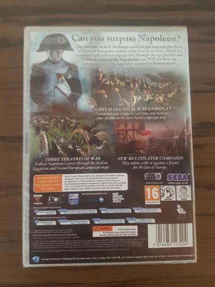 Napoleon Total War Pc Original E Lacrado - Raridade!