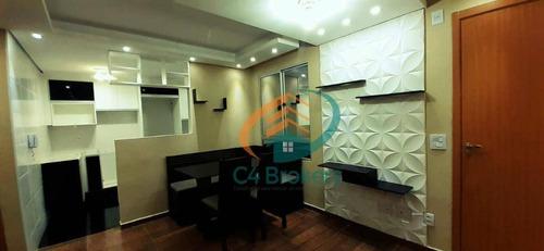 Imagem 1 de 14 de Apartamento Com 2 Dormitórios À Venda, 43 M² Por R$ 185.000,00 - Água Chata - Guarulhos/sp - Ap2139