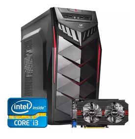 Pc Gamer Core I3 + Gtx 750ti 2gb + 8gb Memória + Hd 500gb
