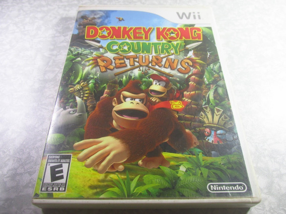 Wii - Donkey Kong Country Returns - Original Americano