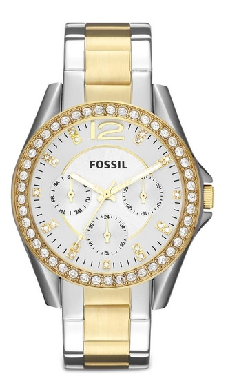Relógio Feminino Riley Fossil Es3204/5bn