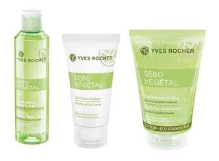 Set Facial Anti Brillo Gel + Agua Micelar + Matificante Yves