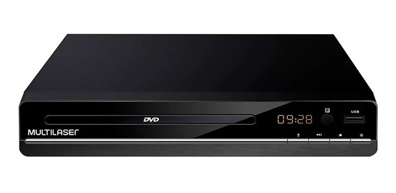 Dvd Player 3 Em 1 Multimídia Dvd Cd Usb Mp3 Multilaser Sp252