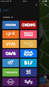Globosat Play + Brinde - 1 Ano