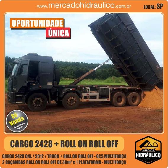 Cargo 2428/2012 Roll On Roll Off G25, Caçambas E Plataforma