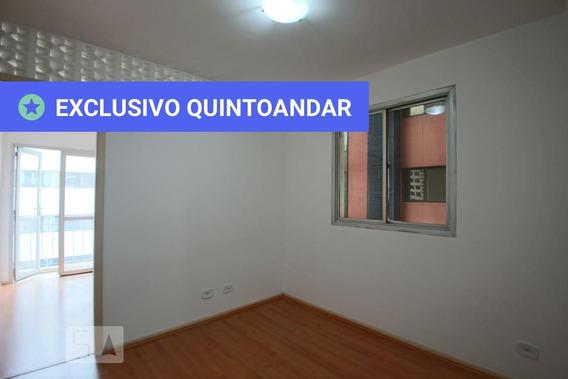 Apartamento No 6º Andar Com 1 Dormitório E 1 Garagem - Id: 892968456 - 268456