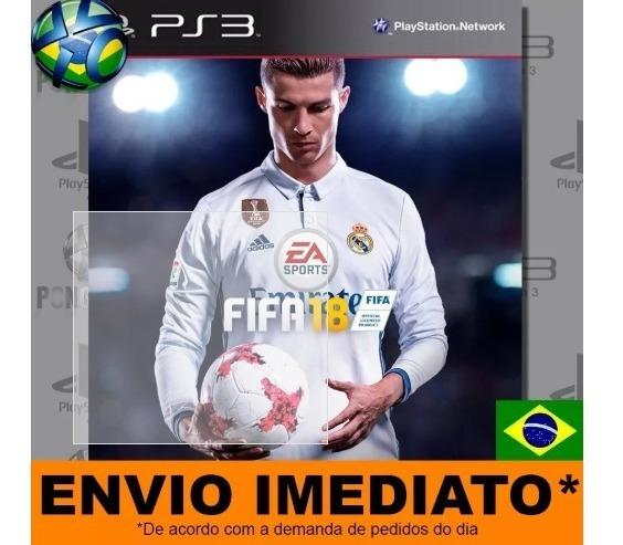 Fifa 18 Ps3 Digital Dublado Pt Br Envio Imediato