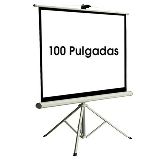 Pantalla Proyector Femmto 100 Pulgadas Manual Con Tripode