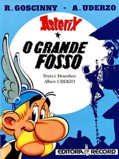 Livro Hq Asterix O Grande Fosso - René Goscinny - Volume 25