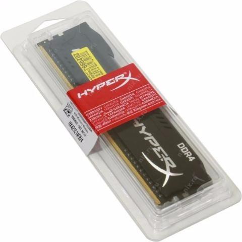 Memória Ddr4 Kingston Hyper X Fury 4gb Cl14 2133mhz 288-pin