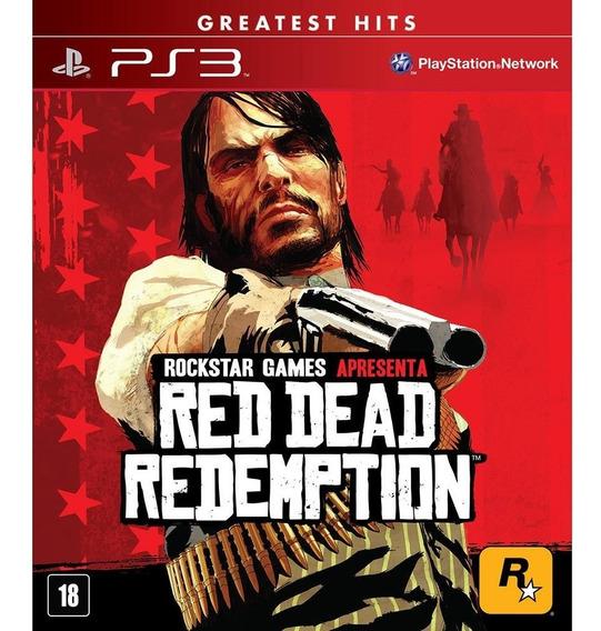 Red Dead Redemption Ps3 Jogo Em Oferta Play 3 Comprar
