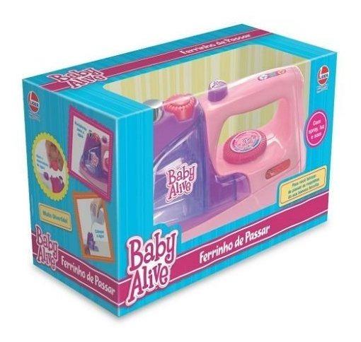 Ferro Baby Alive Rosa Lider 2491
