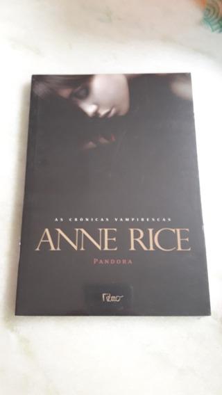 Livro Pandora - Anne Rice (h)