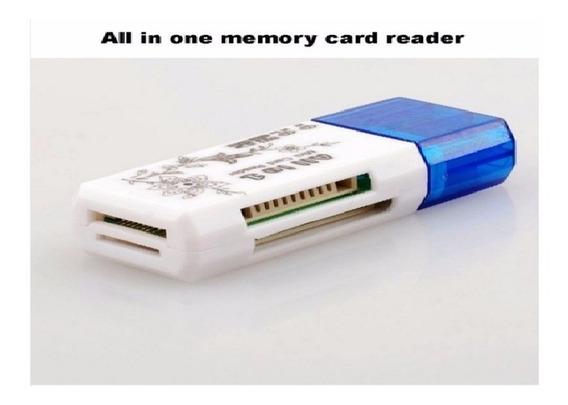 Leitor Cartão Memória Usb Micro Sd Pc Notebook 2 Adaptadores