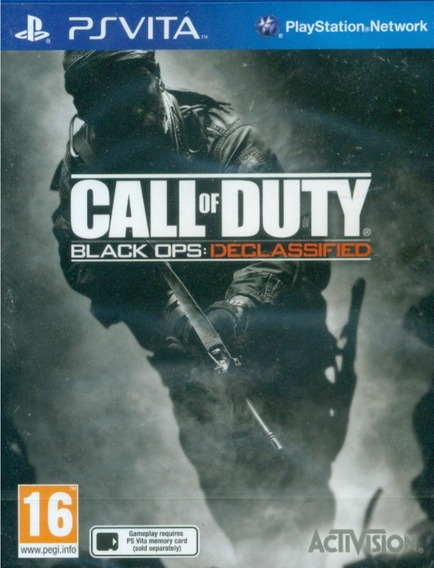 Frete Grátis Call Of Duty Black Ops: Declassified Psvita