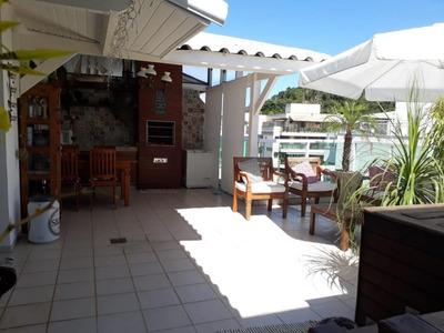 Cobertura Em Itaipu, Niterói/rj De 192m² 2 Quartos À Venda Por R$ 1.180.000,00 - Co216211