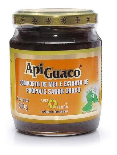 Mel Composto Com Própolis E Guaco 300g - 100% Natural