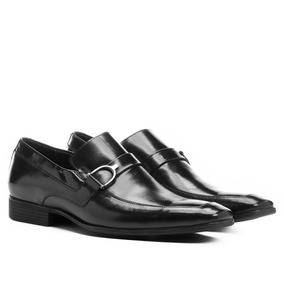 475c1da72e Sapato Social Masculino Preto De Couro Shoestock - Sapatos no ...