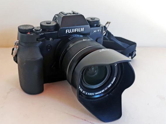 Fujifilm Xt1 Obj. 18-55 F2.8-4 + 2 Objetivas + 2 Flashs....