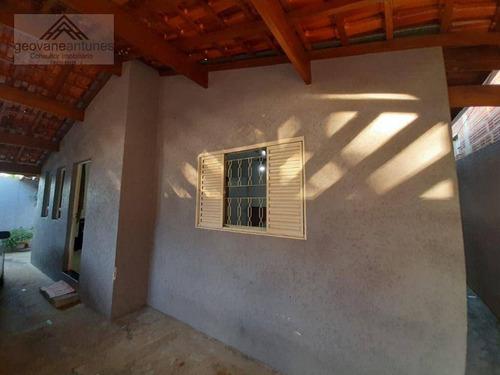 Casa Com 2 Dormitórios À Venda, 127 M² Por R$ 370.000,00 - Parque Residencial Abílio Pedro - Limeira/sp - Ca0408