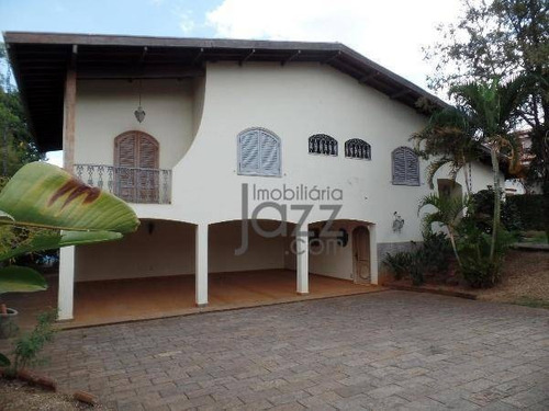 Casa Com 5 Dormitórios À Venda, 588 M² Por R$ 2.200.000 - Taquaral - Campinas/sp - Ca6523