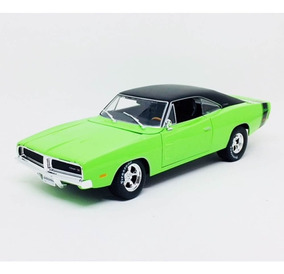Miniatura Carro Dodge Charger R/t 1969 1:18 Maisto Design