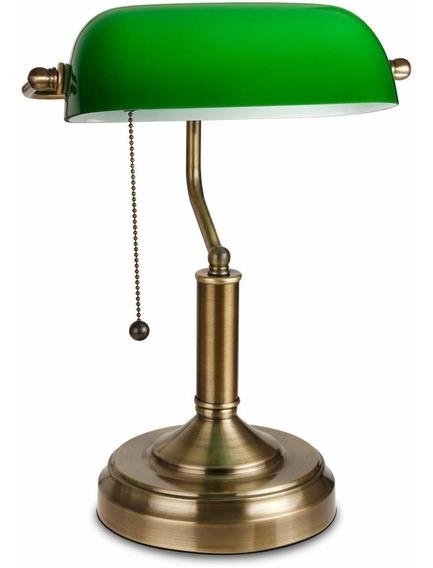 Lampara Escritorio Estilo Europa Antiguo Pelicula Tono Verde