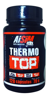 Combo 1 Bcaa 120 Caps + 3 Thermo Top - Aisim