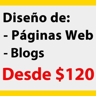 Diseño Página Web | Diseño De Blog | Mantenimiento Web | Seo