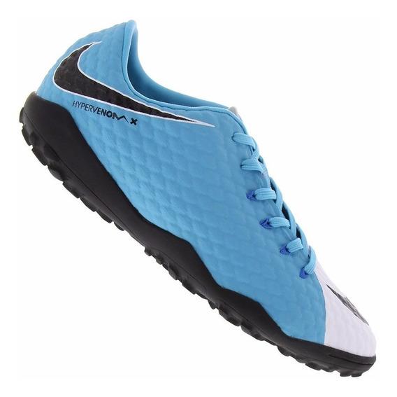 Chuteira Nike Hypervenom Phelon 3 Tf Society