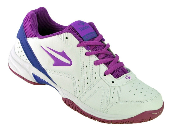 Zapatillas Tenis Mujer Topper Lady Rookie Tenis Bco/vio