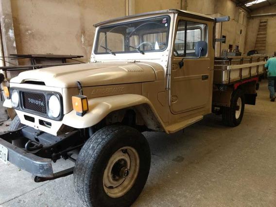 Toyota Bandeirante Picape 4x4 1989