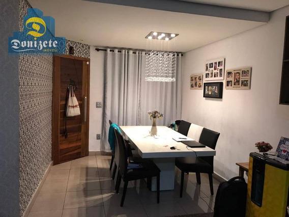 Sobrado Residencial À Venda, Vila Scarpelli, Santo André. - So2067