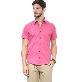 Camisa . Rosa Escuro. Enfim