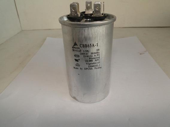 Capacitor Epcos Cbb65a-1 250 Vac 50+6uf-1001 Coisas
