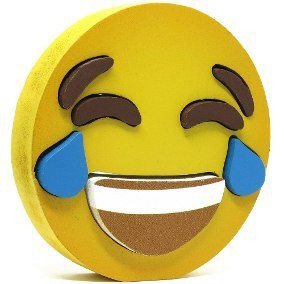 Emoji Chorindo Toy Decorativo Original 8 Peças 10 Cm