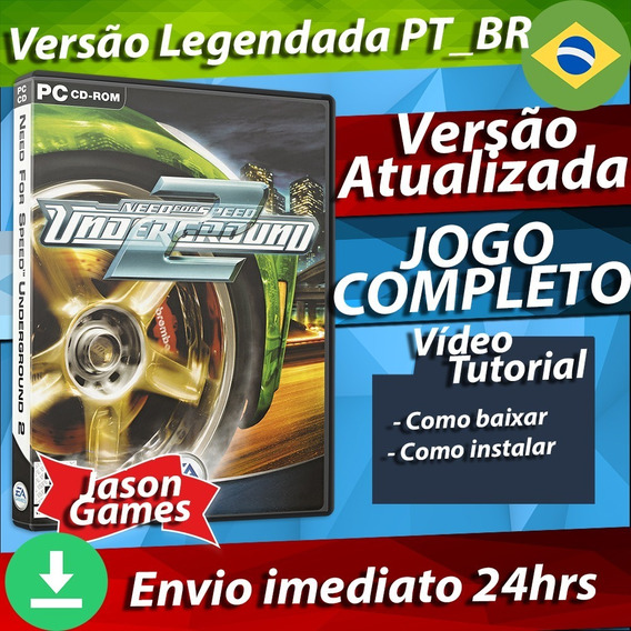 Need For Speed Underground 2 Pc - Envio Digital