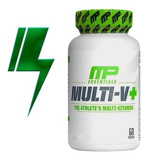 Multivitaminico Multi-v+ - 60 Capsulas - Muscle Pharm