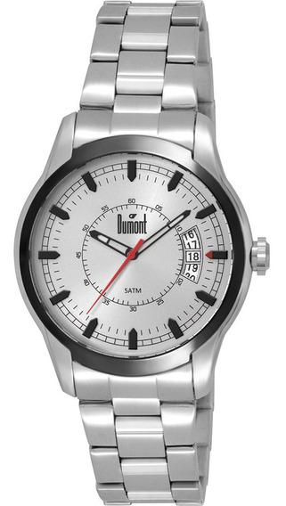 Relógio Dumont Masculino Casual Prateado Duvj52aa/3c