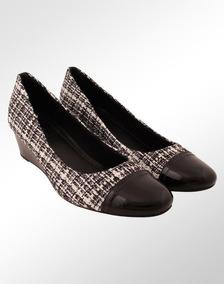 b960f8832 Scarpin Anabela Verniz - Sapatos no Mercado Livre Brasil