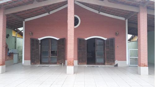 (ref:4486)casa 250 Metros Do Mar- Itanhaém/sp - Pq. Augustus