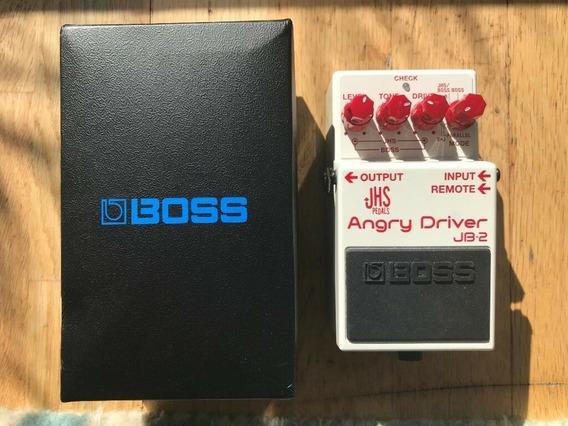 Pedal Boss Para Guitarra Angry Driver Jb-2 Oferta! Promoção!