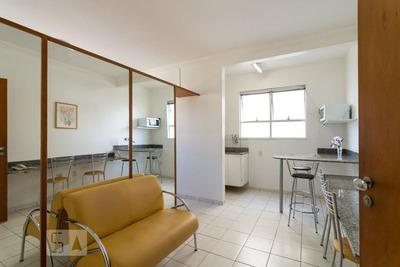 Flat Em Rede De Hotel - Térreo Mobiliado Com 1 Dormitório - Id: 892928264 - 228264