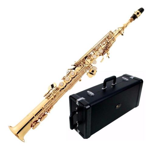 Sax Soprano Eagle Laqueado Sp502