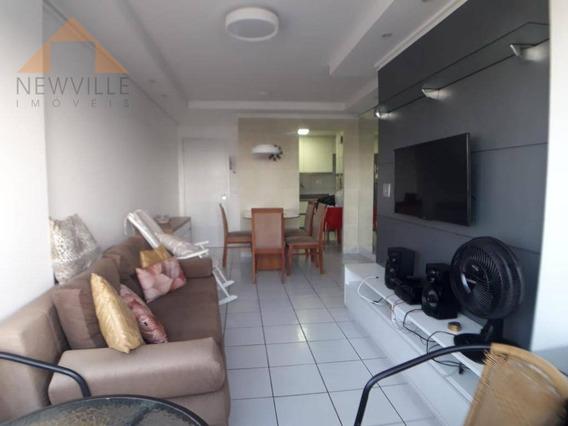 Apartamento Com 3 Quartos À Venda, 70 M² - Boa Viagem - Recife/pe - Ap2171