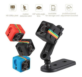 Mini Micro Câmera Filmadora Espiã Noturna Sq11 Full Hd 1080p