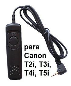 Cabo Disparador Rs-60 E3 Para Canon T2i T3i T4i T5i 60d 70d