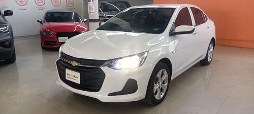 Imagen 1 de 11 de Chevrolet Onix Ls Rines 2021 Blanco Garantia