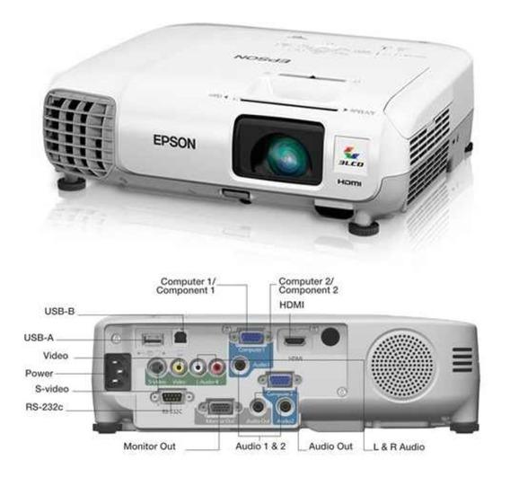 Video Beam Epson S17+ Hdmi+ Wifi Integrado 6 Meses Garantia