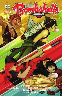 Dc Comics Bombshells 4 Reinas - Marguerite Bennett - Ecc